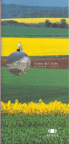 couverture Rapport Annuel  Andra 2005